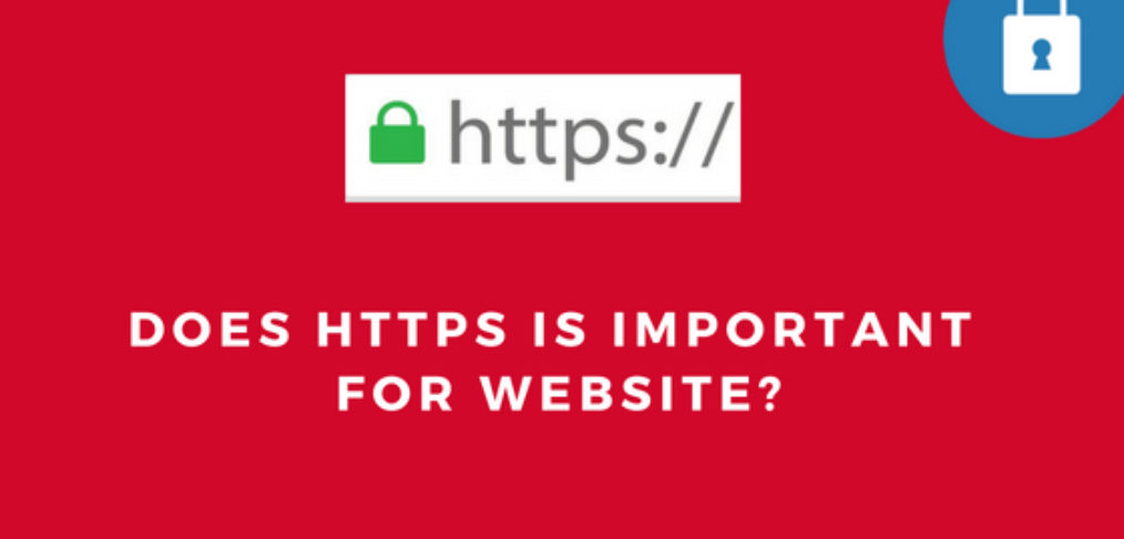 HTTPS is important for SEO